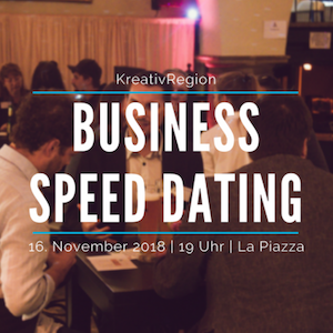 Business speed dating kreativregion