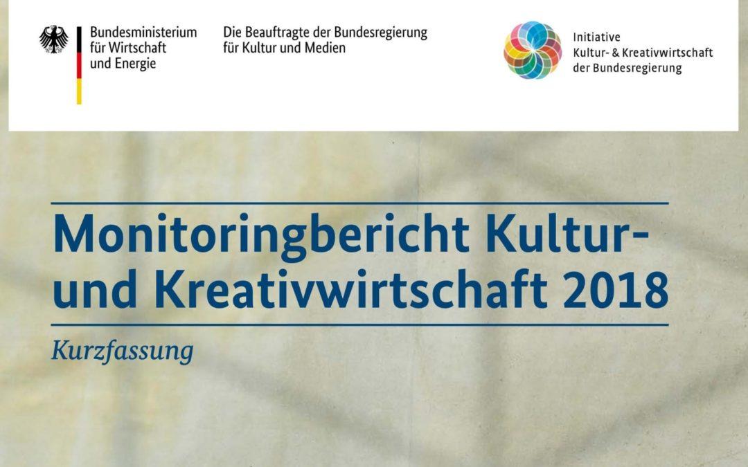 Monitoringbericht Kultur- und Kreativwirtschaft 2018 (Kurzfassung)