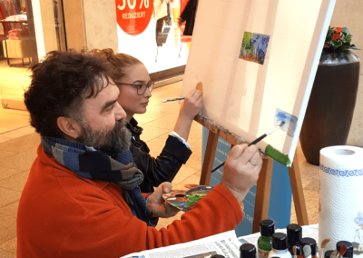 Winterkunstzeit 2019 kreativregion 10