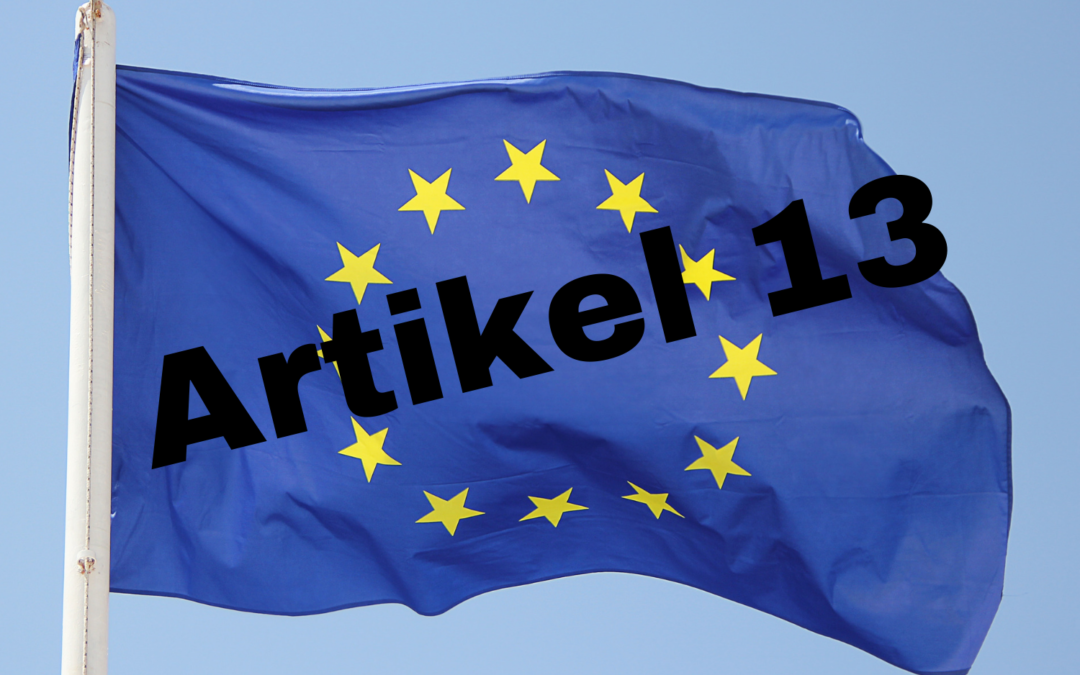 Artikel 13 der Urheberrechtsreform