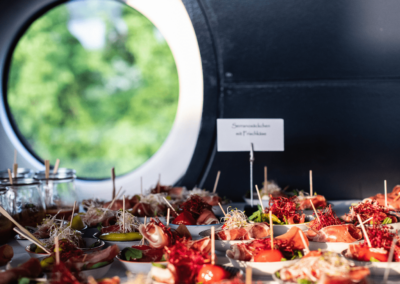 Sommernetztraum Kreativregion 2019 Buffet