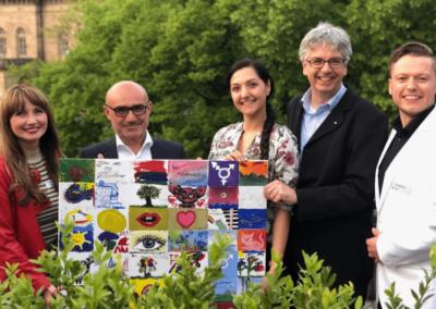 versteigerung kunstwerk winterkunstzeit sommernetztraum kreativregion 2019