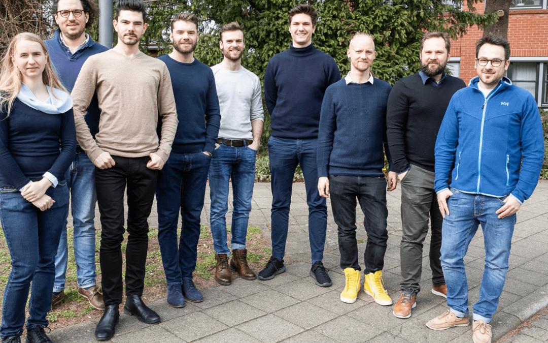 Fünf Gründerteams starten durch