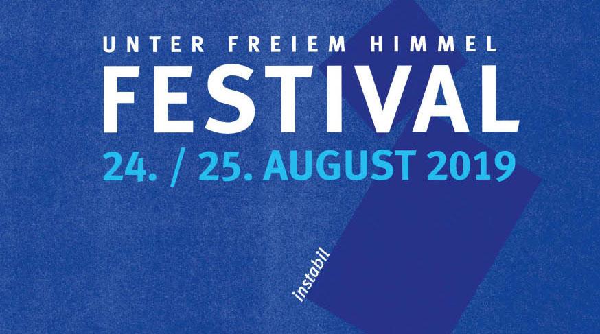 BANNER_instabil Kunstfestivals UNTER FREIEM HIMMEL