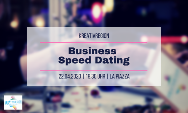 business speed dating kreativregion April 2020