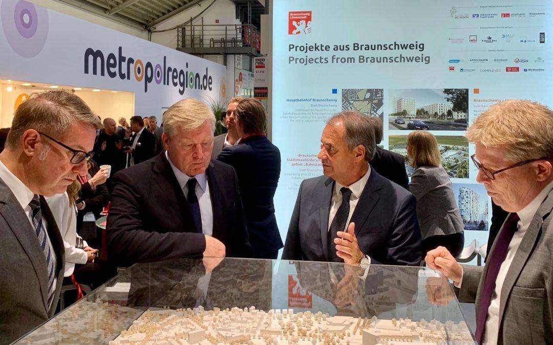 Wirtschaftsförderung präsentiert den Standort Braunschweig auf Europas größter Immobilienmesse