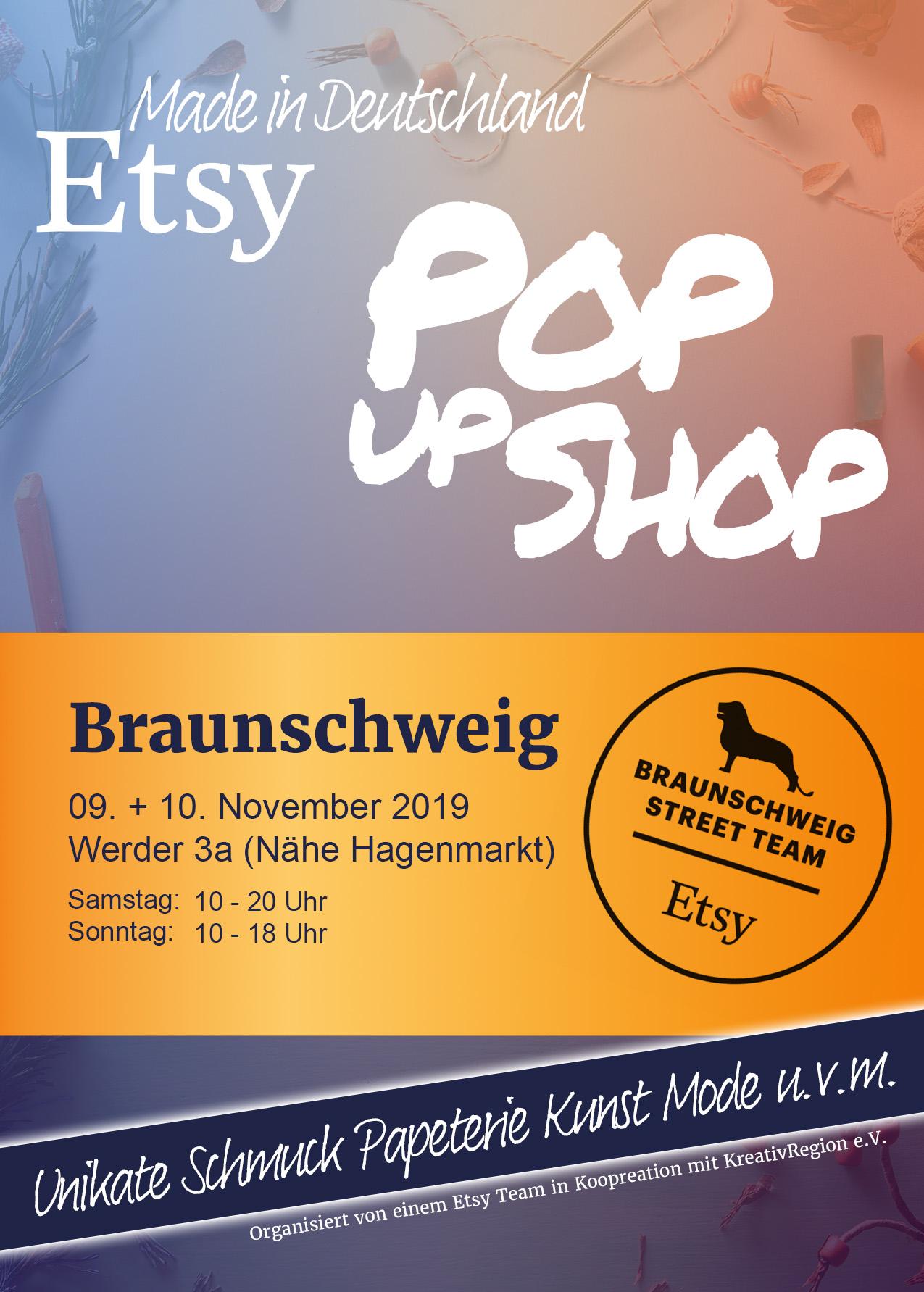 etsy handmade popup shop braunschweig