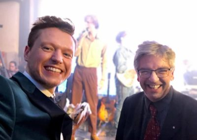 andreas cichon und jens martens beim marketing loewe 2019