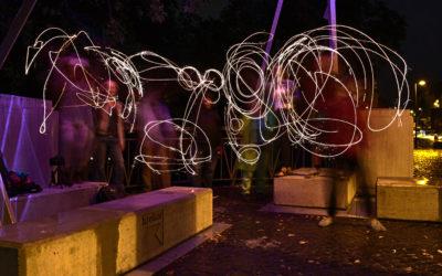 11hoch11 Lichtparcours Fotowalk im August