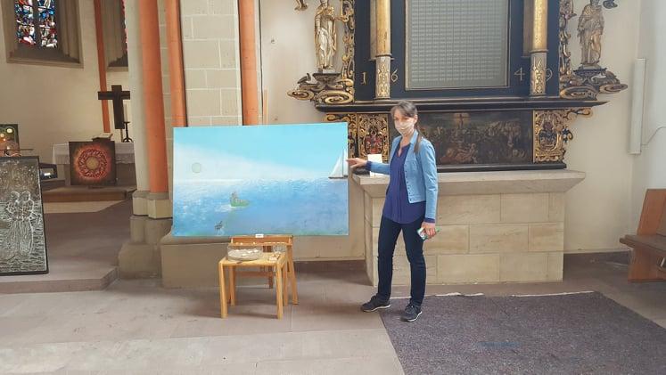 Kunst küsst Kirche – ein Ausstellungsbesuch