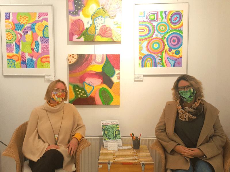 """Barbara Schulz """"Neue farbige Wege gehen"""""""